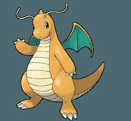 покемон Dragonite